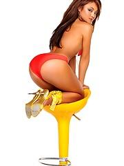 Pop queen Tila Tequila erotic pics